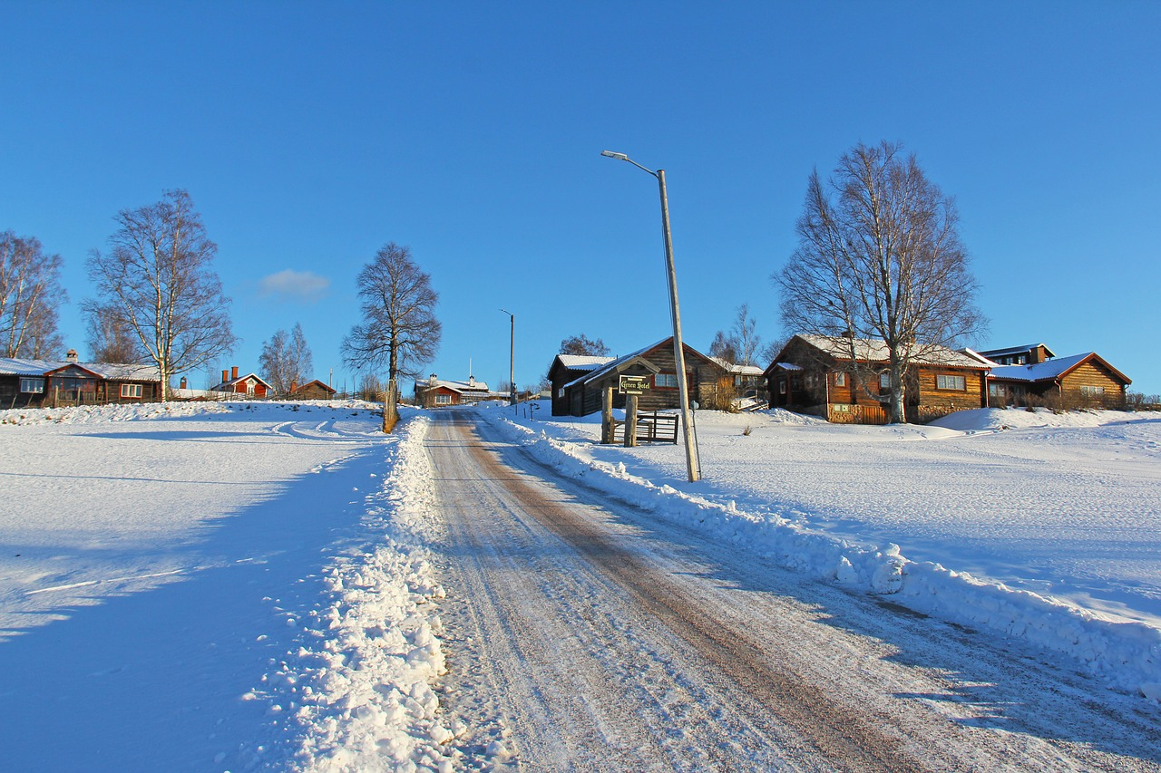 Deux destinations de vacances hivernales