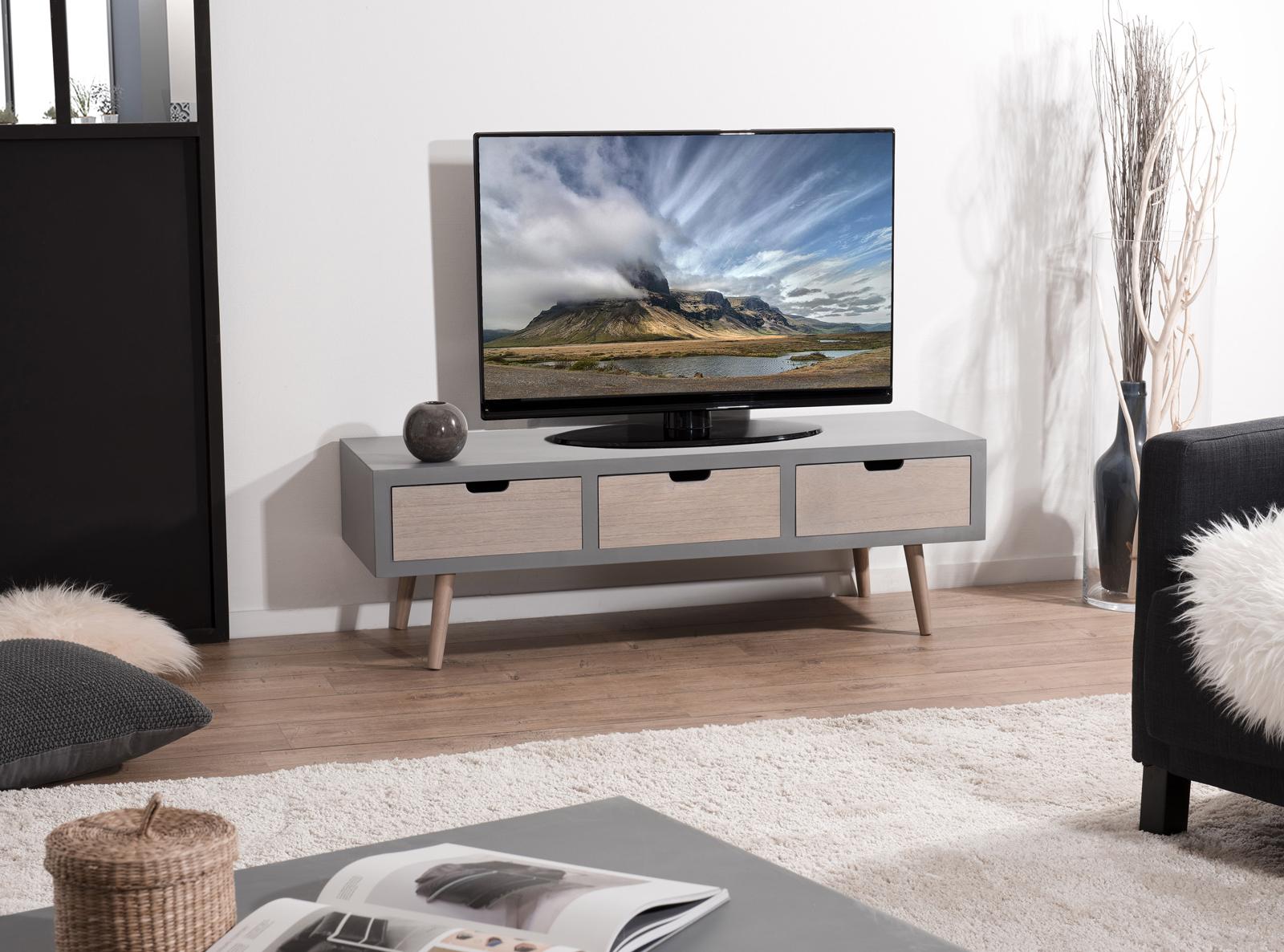 Comment faire pour procéder au bon choix d'un meuble TV moderne