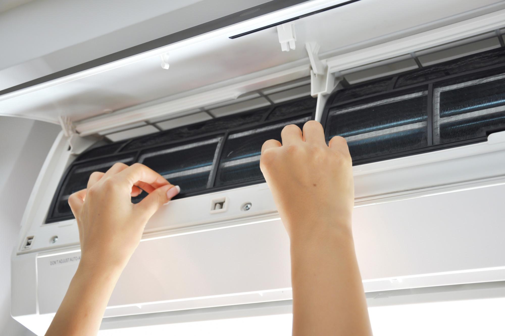Comment changer un filtre à air HVAC