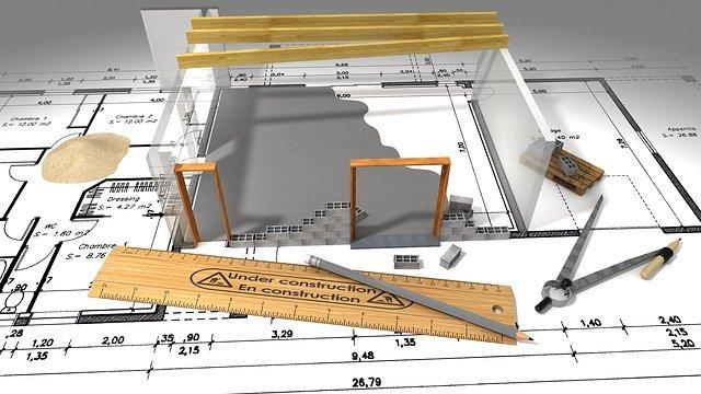 Faire construire sa maison nécessite 4 étapes : le plan de financement, la recherche du terrain, le plan de la maison et le choix du constructeur.