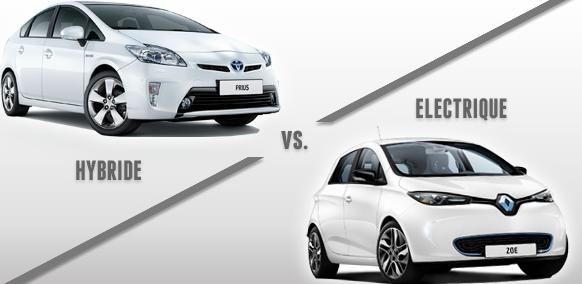 Que choisir entre la voiture hybride et la voiture électrique
